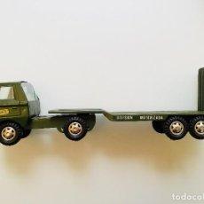 Juguetes antiguos Gozán - Camion Militar Góndola de Gozan - 151378822