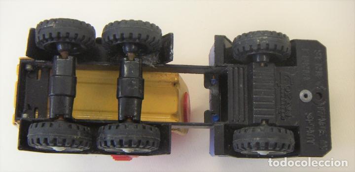 Juguetes antiguos Gozán: Camión Hormigonera Gozán serie Furia Metal y plástico años 80 - Foto 3 - 156965818