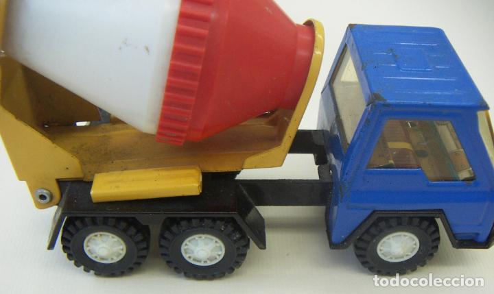 Juguetes antiguos Gozán: Camión Hormigonera Gozán serie Furia Metal y plástico años 80 - Foto 4 - 156965818