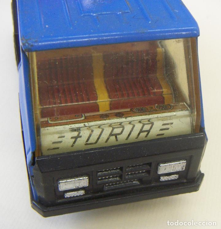 Juguetes antiguos Gozán: Camión Hormigonera Gozán serie Furia Metal y plástico años 80 - Foto 5 - 156965818