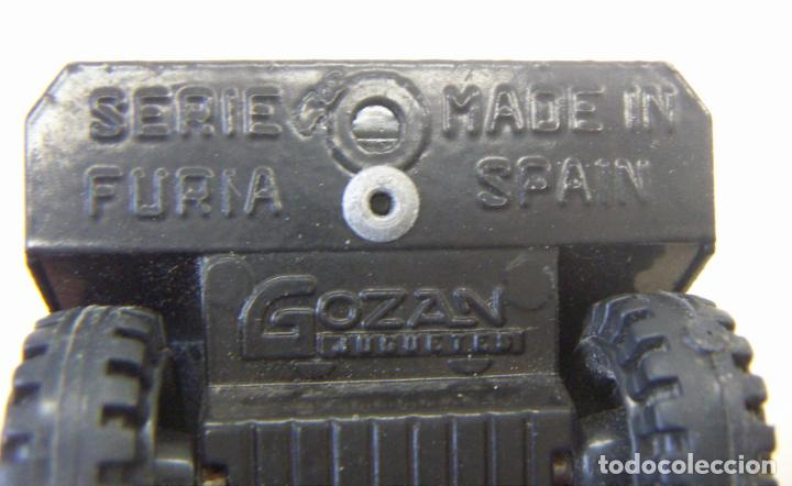 Juguetes antiguos Gozán: Camión Hormigonera Gozán serie Furia Metal y plástico años 80 - Foto 6 - 156965818