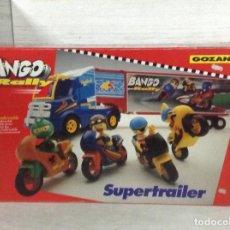 Juguetes antiguos Gozán: SUPERTRAILER BANGO RALLY,GOZAN.NUEVO.. Lote 157257606