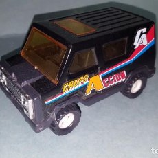 Brinquedos antigos Gozán: COCHE FURGONETA GRUPO ACCION DE GOZAN. Lote 161008874