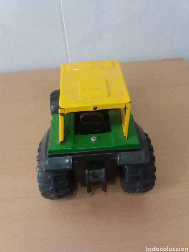 Juguetes antiguos Gozán: Gozan tractor. - Foto 3 - 161436361