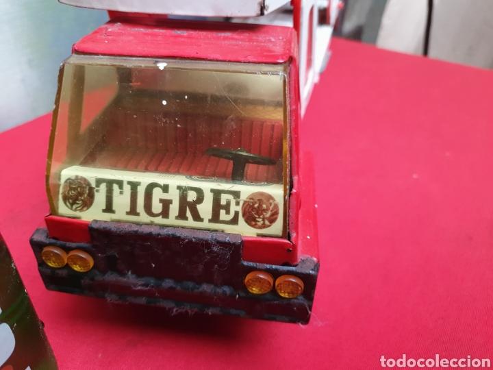 Juguetes antiguos Gozán: Camion Tigre Cars. Marca Gozán - Foto 2 - 164866821