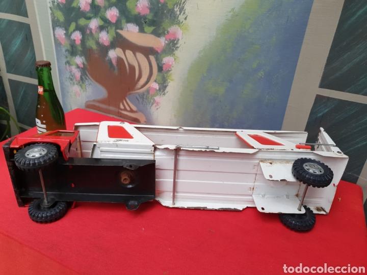 Juguetes antiguos Gozán: Camion Tigre Cars. Marca Gozán - Foto 5 - 164866821