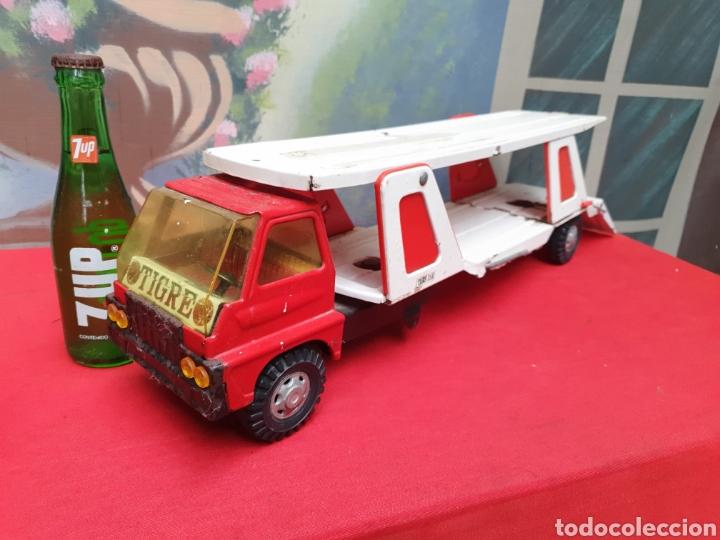 Juguetes antiguos Gozán: Camion Tigre Cars. Marca Gozán - Foto 7 - 164866821