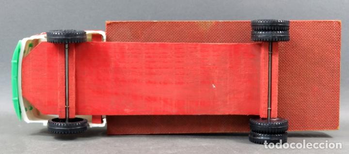 Juguetes antiguos Gozán: Pegaso Barajas de Gozán madera y plástico años 50 - Foto 7 - 165994434