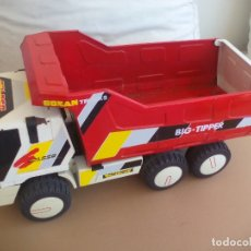 Juguetes antiguos Gozán: CAMION VOLQUETE GOZAN COLOSO TRUCKS BIG TIPPER. REF 801. Lote 167057324