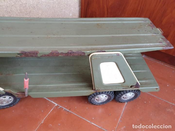 Juguetes antiguos Gozán: Camión trans-gozán tigre 2000 - Foto 4 - 167988944