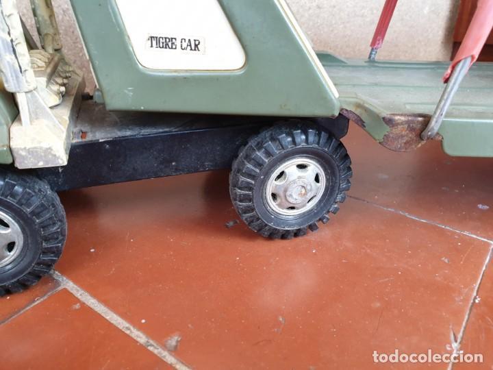 Juguetes antiguos Gozán: Camión trans-gozán tigre 2000 - Foto 5 - 167988944