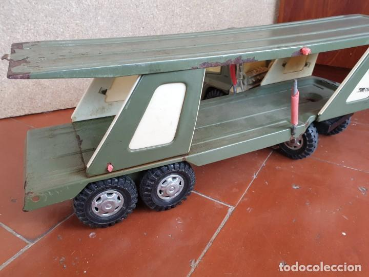 Juguetes antiguos Gozán: Camión trans-gozán tigre 2000 - Foto 8 - 167988944