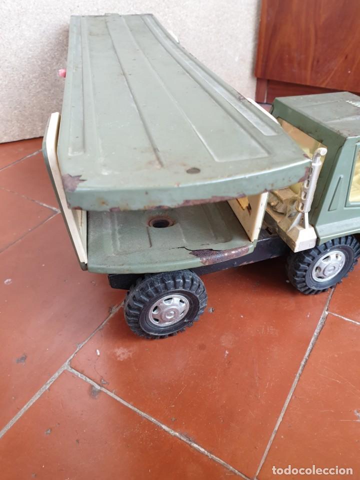 Juguetes antiguos Gozán: Camión trans-gozán tigre 2000 - Foto 10 - 167988944