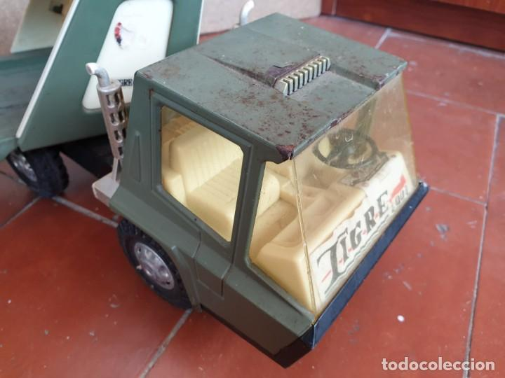 Juguetes antiguos Gozán: Camión trans-gozán tigre 2000 - Foto 11 - 167988944