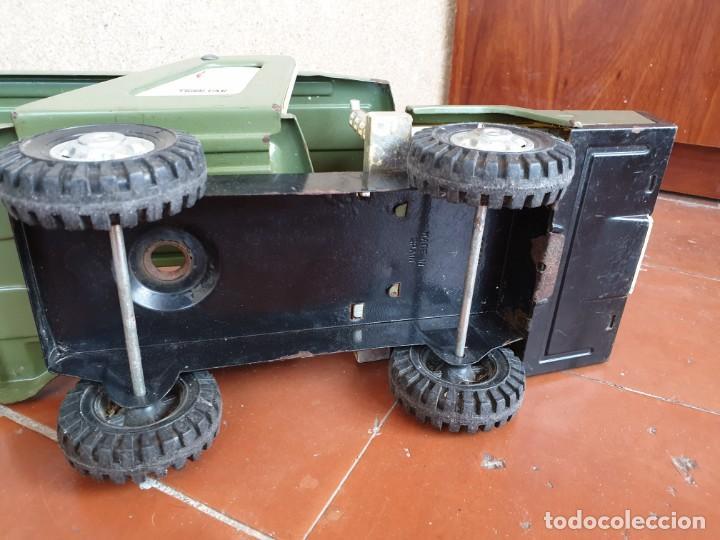 Juguetes antiguos Gozán: Camión trans-gozán tigre 2000 - Foto 12 - 167988944