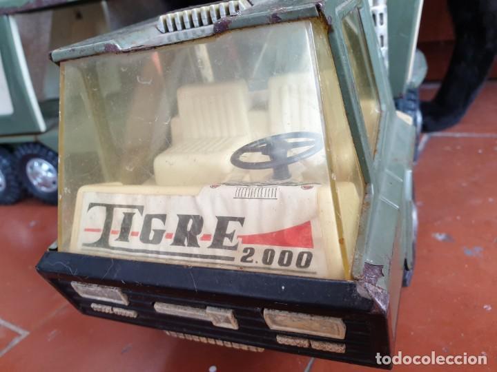 Juguetes antiguos Gozán: Camión trans-gozán tigre 2000 - Foto 13 - 167988944