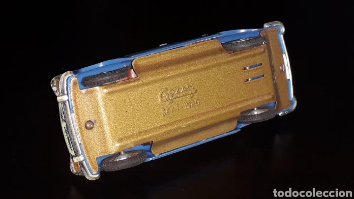 Juguetes antiguos Gozán: Seat 1500, fabricado en plástico con chasis metálico, esc. 1/32, Gozán Ibi Spain, original años 60. - Foto 7 - 168975380