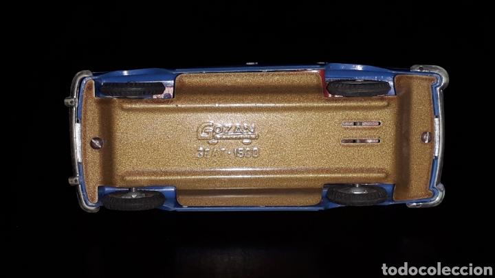Juguetes antiguos Gozán: Seat 1500, fabricado en plástico con chasis metálico, esc. 1/32, Gozán Ibi Spain, original años 60. - Foto 8 - 168975380