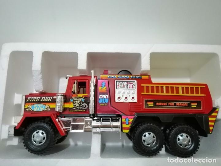 Juguetes antiguos Gozán: camión bomberos super dallas gozan - Foto 2 - 169595496