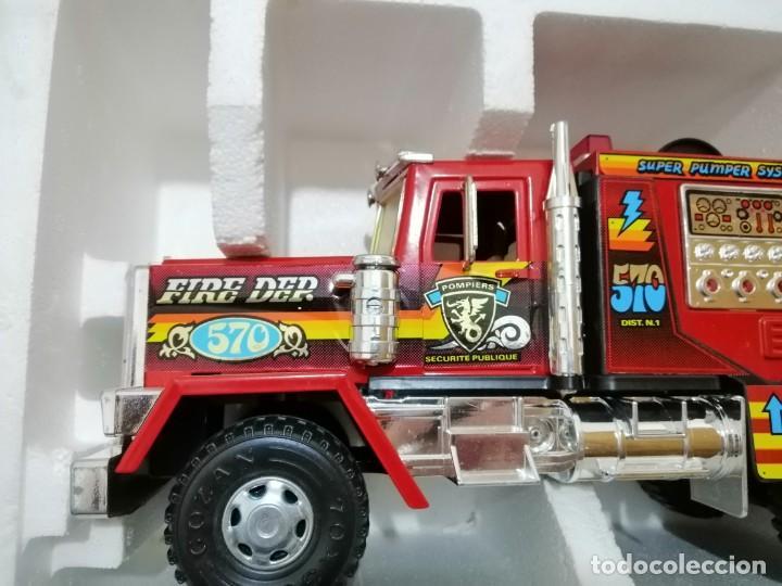 Juguetes antiguos Gozán: camión bomberos super dallas gozan - Foto 3 - 169595496