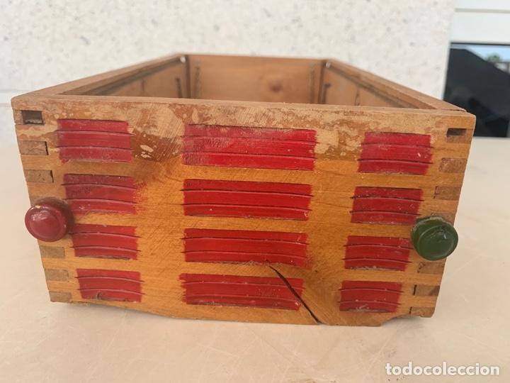 Juguetes antiguos Gozán: CAMION PEGASO MOLTO CAJA DE CARGA MADERA AÑOS 50 - Foto 4 - 215917185