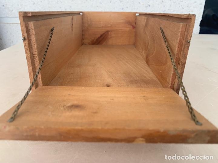 Juguetes antiguos Gozán: CAMION PEGASO MOLTO CAJA DE CARGA MADERA AÑOS 50 - Foto 8 - 215917185