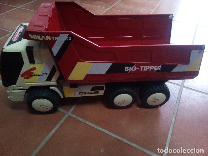 CAMION VOLQUETE GOZAN COLOSO TRUCKS BIG TIPPER (Juguetes - Marcas Clásicas - Gozán)