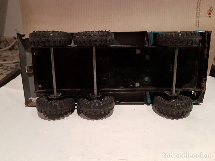 Juguetes antiguos Gozán: antiguo camion de gozan serie tigre porta contenedores ver fotos - Foto 7 - 173664534