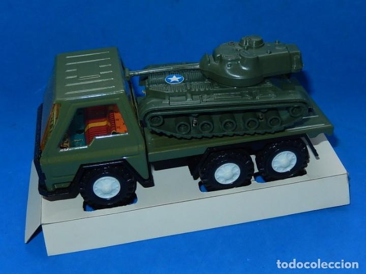 Juguetes antiguos Gozán: Camión con tanque. Serie Furia. Ref. 173. Fabricado por Juguetes Gozán. España. - Foto 2 - 175393379