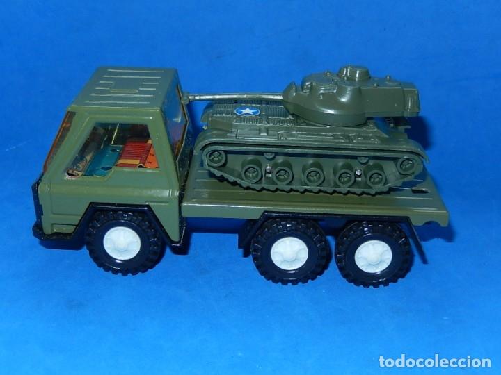Juguetes antiguos Gozán: Camión con tanque. Serie Furia. Ref. 173. Fabricado por Juguetes Gozán. España. - Foto 3 - 175393379
