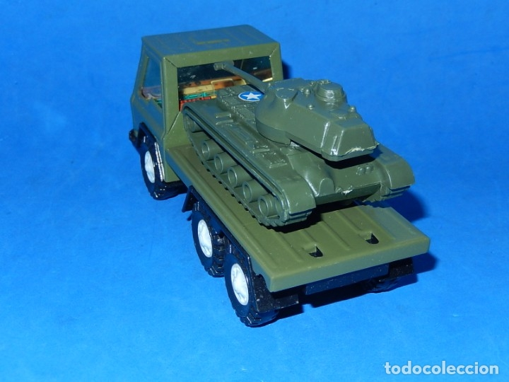 Juguetes antiguos Gozán: Camión con tanque. Serie Furia. Ref. 173. Fabricado por Juguetes Gozán. España. - Foto 4 - 175393379