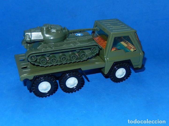 Juguetes antiguos Gozán: Camión con tanque. Serie Furia. Ref. 173. Fabricado por Juguetes Gozán. España. - Foto 5 - 175393379
