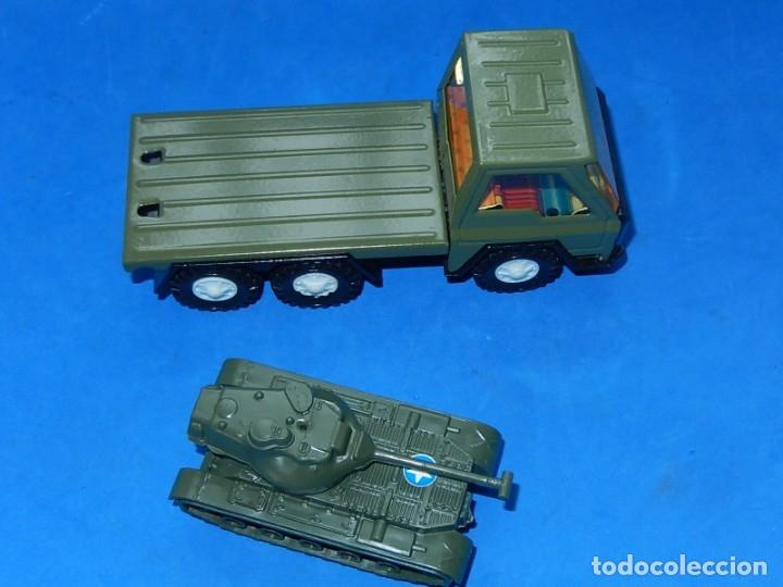 Juguetes antiguos Gozán: Camión con tanque. Serie Furia. Ref. 173. Fabricado por Juguetes Gozán. España. - Foto 7 - 175393379