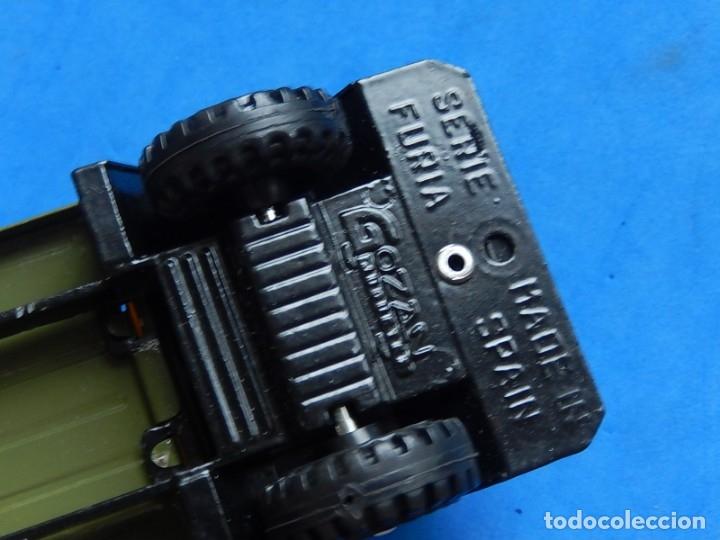 Juguetes antiguos Gozán: Camión con tanque. Serie Furia. Ref. 173. Fabricado por Juguetes Gozán. España. - Foto 10 - 175393379