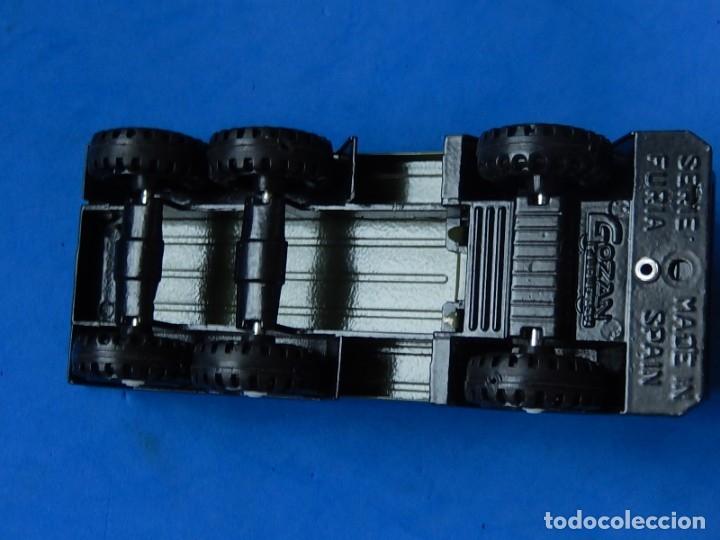 Juguetes antiguos Gozán: Camión con tanque. Serie Furia. Ref. 173. Fabricado por Juguetes Gozán. España. - Foto 11 - 175393379