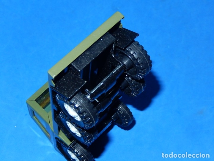 Juguetes antiguos Gozán: Camión con tanque. Serie Furia. Ref. 173. Fabricado por Juguetes Gozán. España. - Foto 18 - 175393379