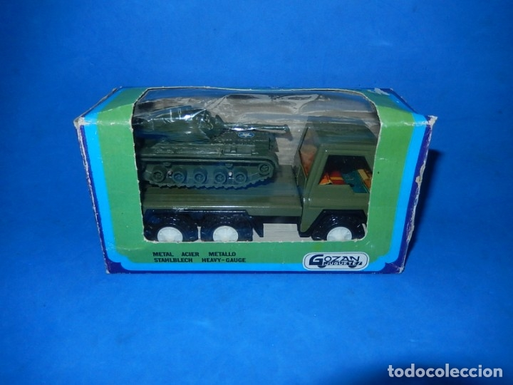 Juguetes antiguos Gozán: Camión con tanque. Serie Furia. Ref. 173. Fabricado por Juguetes Gozán. España. - Foto 19 - 175393379