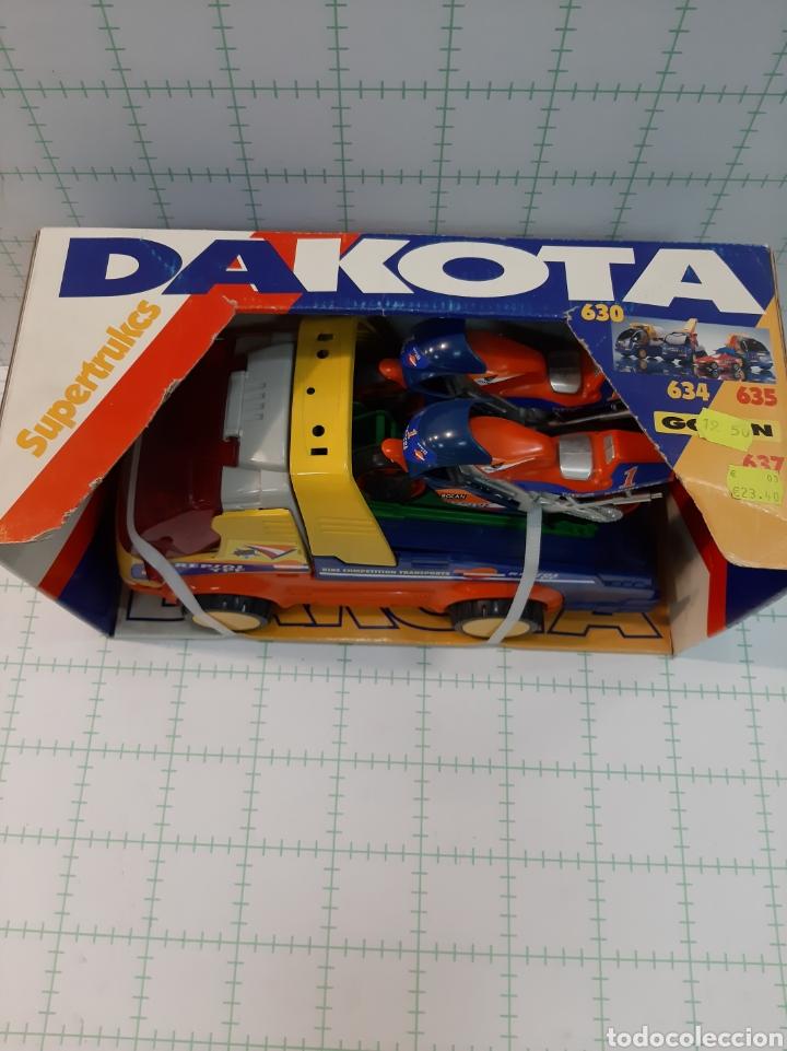 Juguetes antiguos Gozán: Camion DAKOTA GOZAN Honda repsol - Foto 2 - 175721959