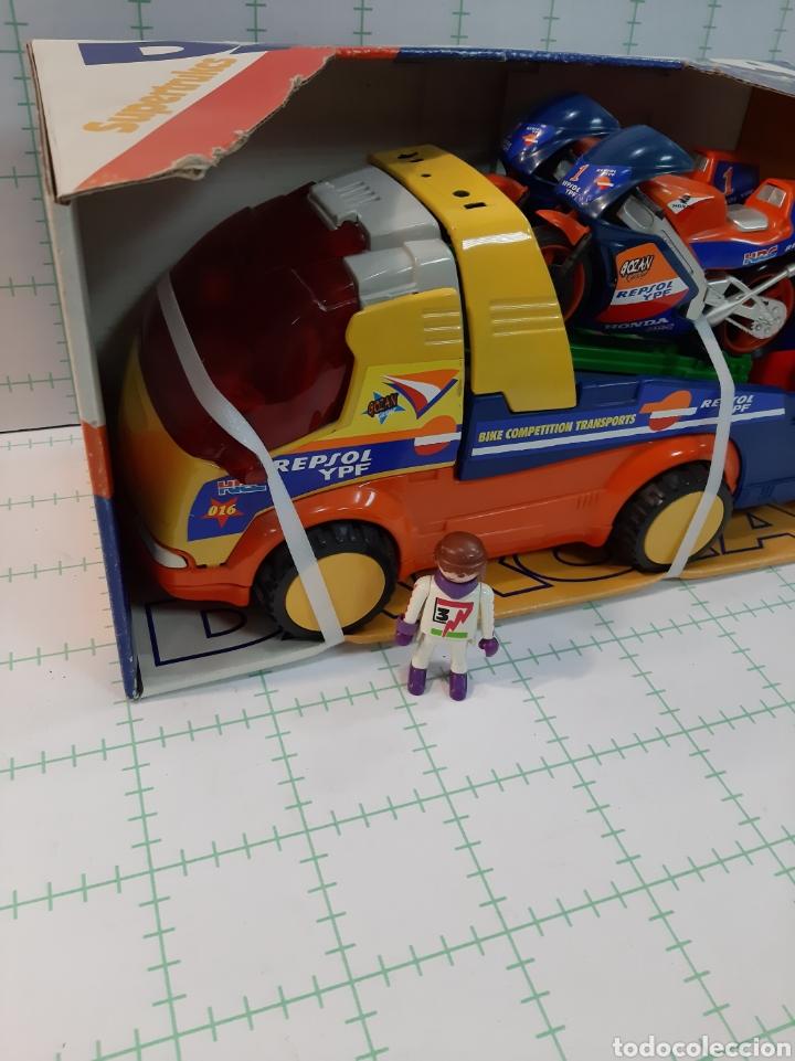 Juguetes antiguos Gozán: Camion DAKOTA GOZAN Honda repsol - Foto 3 - 175721959
