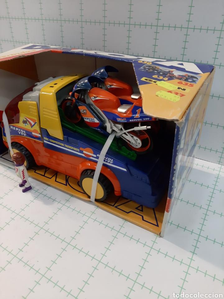 Juguetes antiguos Gozán: Camion DAKOTA GOZAN Honda repsol - Foto 4 - 175721959