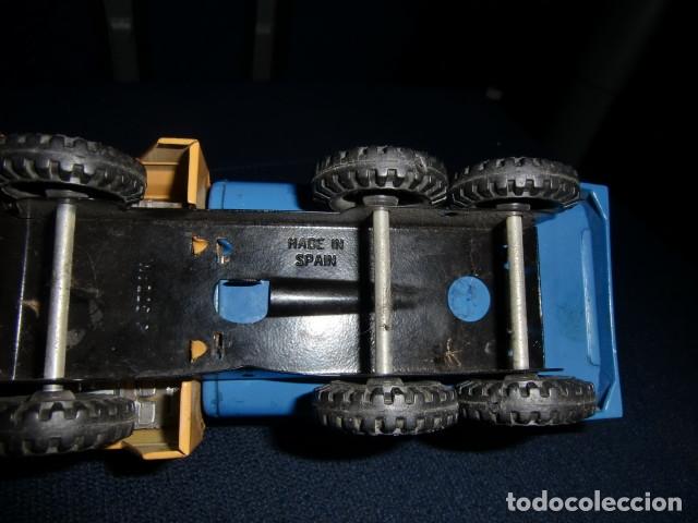 Juguetes antiguos Gozán: camion de lata metalico - gozan - made in spain - Foto 4 - 179098945