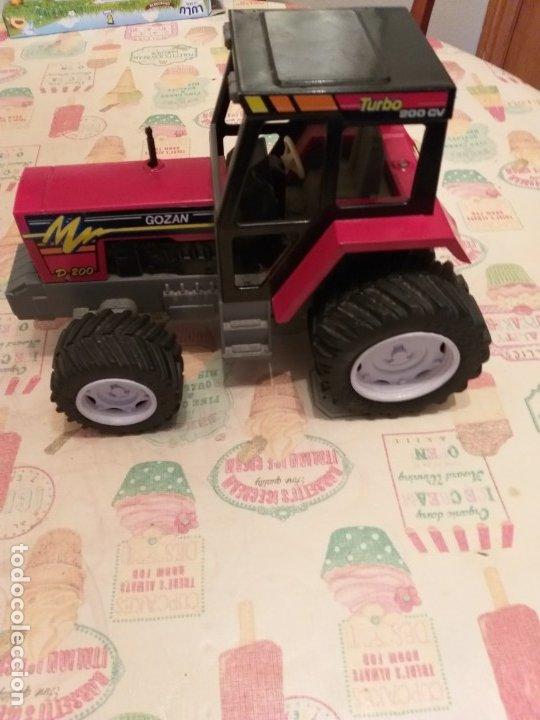 Juguetes antiguos Gozán: tractor juguetes GOZAN años 70/80 - Foto 2 - 179309027