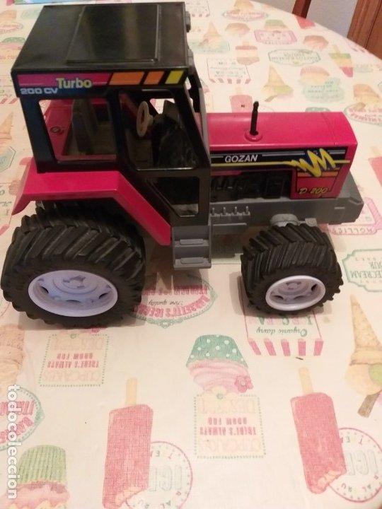 Juguetes antiguos Gozán: tractor juguetes GOZAN años 70/80 - Foto 4 - 179309027