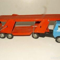 Brinquedos antigos Gozán: CAMION PARA TRANSPORTAR COCHES - GOZAN -. Lote 179322290