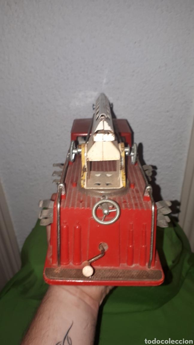 Juguetes antiguos Gozán: Antiguo camión de bomberos gozan años 60 - Foto 5 - 230321465