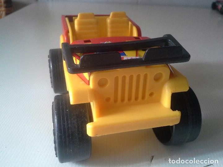 Juguetes antiguos Gozán: jeep rallye team de gozan hojalata y plastico - Foto 5 - 185755172