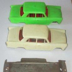 Brinquedos antigos Gozán: SEAT 1500 GOZAN 2 CARROCERIAS Y 3 CHASIS POR SOLO 1 € SUBASTA. Lote 190116026