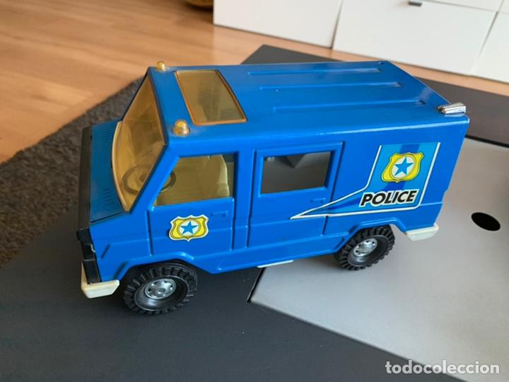 CAMIÓN POLICE. GOZAN (METAL ) 25 X 12 CM (Juguetes - Marcas Clásicas - Gozán)