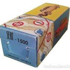 Juguetes antiguos Gozán: GOZÁN SEAT 1500 CAJA (LEER DESCRIPCIÓN).. Lote 193857193