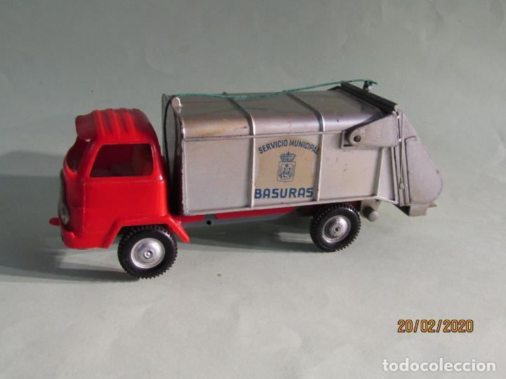 Juguetes antiguos Gozán: Antiguo Camión Tipo Barreiros Recogida de Basura Basculante de GOZAN - Foto 3 - 194722443